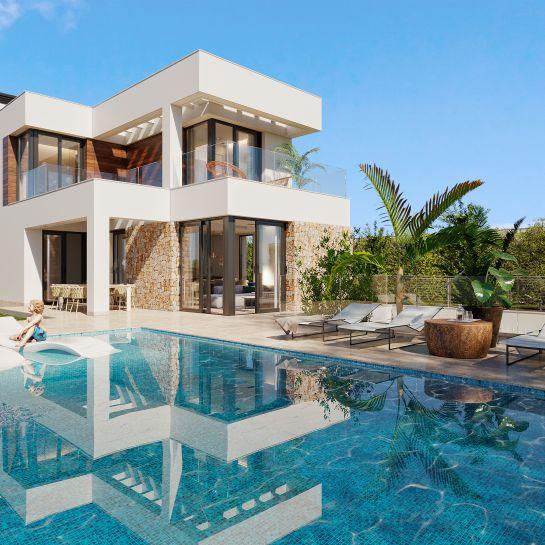 Villas in Finestrat